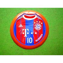 Time De Futebol De Botão Bayern (com Goleiro)
