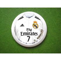 Time De Futebol De Botão Real Madrid (com Goleiro)