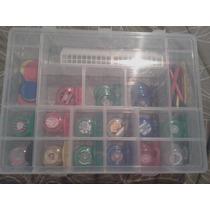 Mini Caixa De Botões Play Dream 15 Times Brasileiros