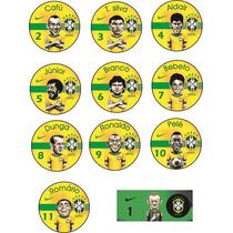 Time De Botão Seleção Brasileira De Todos Os Tempos