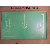 Campo Para Futebol De Botão - Grande E Antigo - 122 X 78 Cm