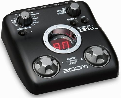 G1u Pedaleira Zoom G1 Usb Para Guitarra G1usb G1 U Original