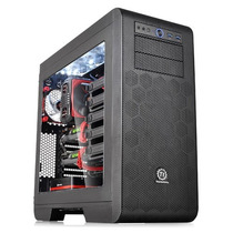 Gabinete Tt Core V51 Black Case W/window Secc Ca-1c6-00m1wn-