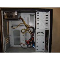 Gabinete Atx Pc Desktop Com Fonte Real 500w Semi Novo