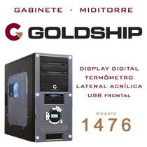 Gabinete Goldship 1476 Com Display - Seminovo E Barato!