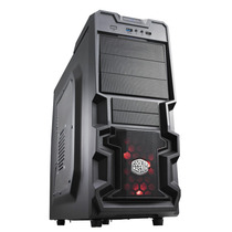 Gabinete Cooler Master K380 Mid Tower Preto Mania Virtual