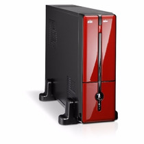 Gabinete K-mex Gm-9g8a Pp250rof Mini Preto/vermelho C/ Fonte
