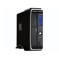 Gabinete Micro Atx Sentey Ss1-2421 Slim + Fonte + Display
