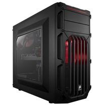 Gabinete Corsair Spec03 Black Usb 3.0 Acrilico Led Vermelho