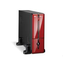 Gabinete Micro Atx K-mex - Gm-9g8a Vermelho/preto