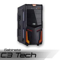 Gabinete Games C3 Tech S/ Fonte C/ Usb 3.0 Frontal Pc-3t304