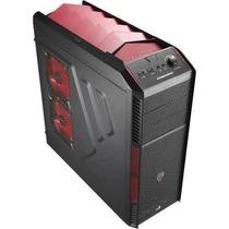Gabinete Aerocool Atx S/ Fonte X-predator X1 Red Black