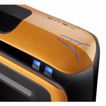 Gabinete Gamer Isolatic X2-6020y-ce/r-2u3 Amarelo S/fonte