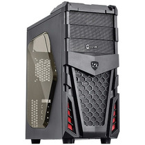 Gabinete Mid Tower Gamer Vinik Twister Vx - Janela Lateral
