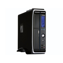 Desktop Micro Atx Slim Com Fonte Bcp450 E Display De Lcd