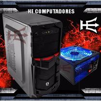 Gabinete Atx Gamer C3tech + Fonte Gaming 500w Instalada