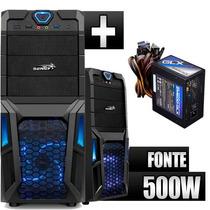 Gabinete Gamer C/ Fonte 500w Real Zalman Sentey Gs-6008