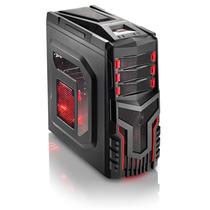Gabinete Gamer Com 3 Cooler Com Led Multilaser - Ga124