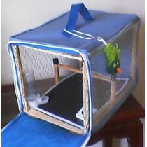 Bolsa Transporte P/ Papagaios, Maritacas, Loris, Ring Necks