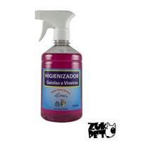 Higienizador Para Gaiolas E Viveiros Aves Passaros - 500ml