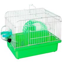 Gaiola Hamster Bebedouro Comedouro Roda Pet Western #gr-5