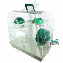 Gaiola Bragança 4 Andares Para Hamster (branca)
