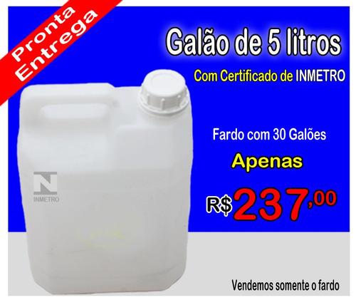 Galao De Emergencia Combustivel 5 Litros Inmetro Obrigatorio