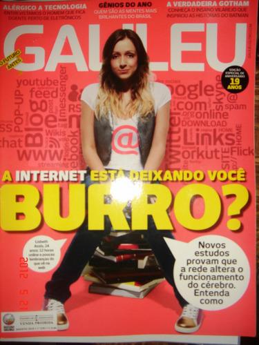 Galileu N.229-08/2010-a Internet Está Deixando Você Burro