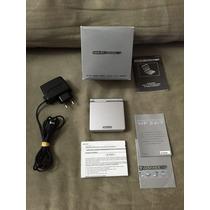 Game Boy Advance Sp Prata Completo Na Caixa Gba Original