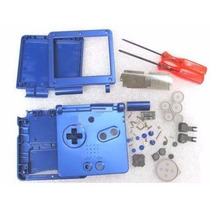 Carcaça Azul P Gba + Kit De Chaves X E Y R$ 50,00 + Frete