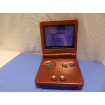 Game Boy Advance Sp + Carregador + 1 Game