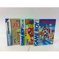 Mini Caixas Para Cartuchos De Game Boy (color E Advance)