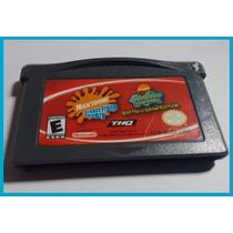 Gba - 2 Em 1 - Bob Esponja - Game Boy Advance - Original