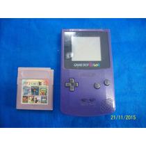 Lindo Game Boy Color Nintendo Funcionando 100% +varios Jogos