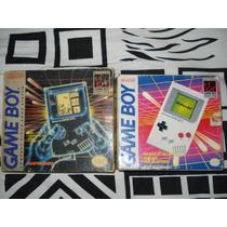 Game Boy Classic -lote Nacional E Americano No Estado- Leia