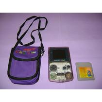 Game Boy Color + 1 Cartucho Com 18 Jogos