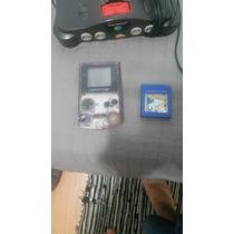 Combo : Game Boy Color + Pokemon Azul + Brinde