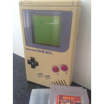 Game Boy Clássico Nintendo + Jogo: Boxxle