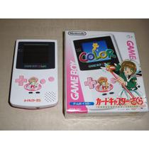 Nintendo Gameboy Color Edição Limitada Sakura Card Captors