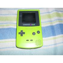 Game Boy Color Verde Funcionando Mas Leia.