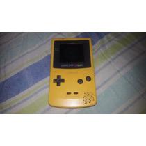 Game Boy Color Amarelo Funcionando Mas Leia Em Obs.