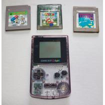 Game Boy Color Nintendo Original + Jogo + Garantia