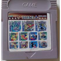 Pokémon Collection Cartucho Com Vário Pokémons Para Gbc/gba!