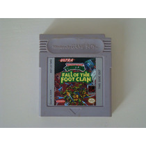 Turtles Fall Of The Foot Clan - Game Boy
