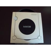 Game Cube Platinum Prata 1 Controle Cabos Manuais Memory Car