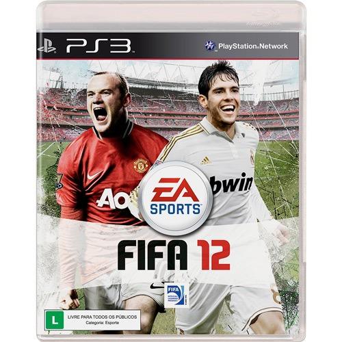 Game Fifa Soccer 12 - Ps3 (novo Lacrado)