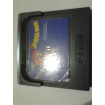 Spiderman Game Gear Homem Aranha Original E Rara Top Linha