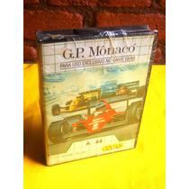G.p. Mônaco - Game Gear - Tec Toy - Lacrado De Fábrica -1991