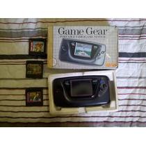 Game Gear Na Caixa