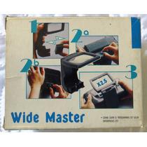 Lente De Aumento Para Game Gear Ou Master Gear - Wide Master